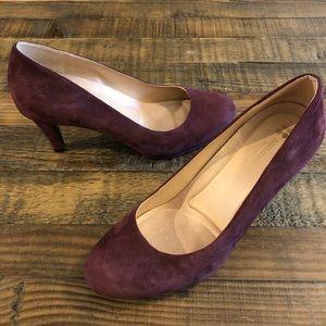 Woman's - Naturalizer Michelle Suede Heels - 9.5M